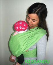 """Porte bébé ECHARPE DE PORTAGE """" POMME """" idée cadeau naissance -nissanou"""