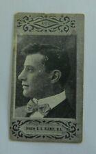 1901 Cigarette Card American Tobacco Company ATC Australian Parliament  Harney