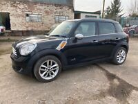 Mini Countryman Cooper all 4 diesel/ leather  seats / very clean