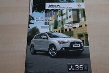 101610) Mitsubishi ASX - 35 Jahre in Deutschland - Prospekt 01/2012