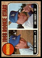 1968 Topps Baseball #161 - #230 Complete your set. Pick your card.