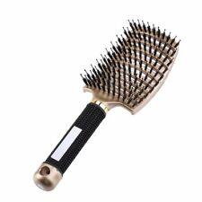 Hair Scalp Massage Comb Hairbrush Nylon Women Curly Hairbrush Salon Hairdressing