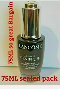 LANCOME Advanced Genifique Youth Activating Concentrate Serum 75ml NEW SEALED