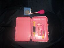 Fisher Price Pretend Play Pink 2000 Doctor Nurse Medical Kit w/Accessories-Bin N