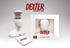 DEXTER COMPLETE SERIES Blu-ray Exclusive Head Gift Set Season 1 2 3 4 5 6 7 8