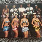 Mai-Kai Polynesian Restaurant Ft Lauderdale FL Polynesian Revue Girls Postcard