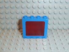 Lego ® Space Classic 1x ventana azul Transp. rojo 1x4x3 4033 6986 6886 6955 k224