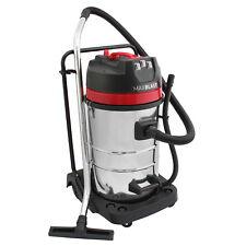 Aspirador Comercial Industrial 80L para Limpieza Seco Húmedo 3000W MAXBLAST