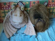 STAR WARS LOT DE 2 PELUCHES SAC OU RANGE PYJAMA TRES RARE COLLECTOR!!!