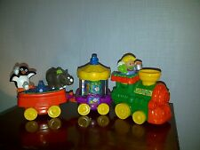 LITTLE PEOPLE - Train Musical du zoo avec personnages - FISHER PRICE