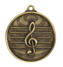 Music Notes Medal Vocals Trophy Award 50mm FREE Engraving & Neck Ribbon 73
