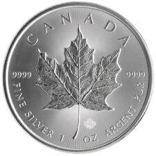 1 onza de plata - Canada Maple - 5 Dollars - 2016