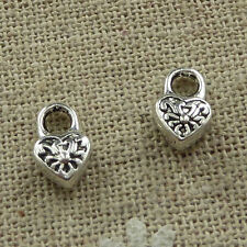 free ship 600 pcs tibetan silver handbag charms 10x6mm #3723