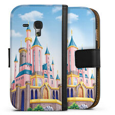 Samsung galaxy s3 mini sac housse flip case-Disney Castle