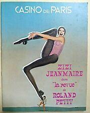Zizi Jeanmaire, Casino de Paris, Theater, Revue, Roland Petit, Zizi Jeanmaire.
