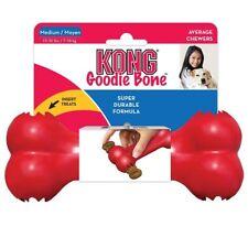 KONG Classic Goodie Bone Dog Treat Dispenser Tough Rubber Chew Toy or Treats