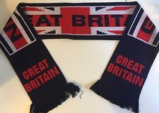GREAT BRITAIN Football Scarves New from Soft Luxury Acrylic Yarns
