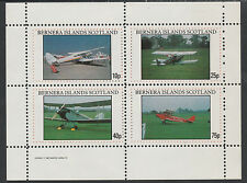 GB Locals - Bernera 2868 - AIRCRAFT perf sheetlet unmounted