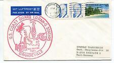 1991 U.S. Coast Guard Loran-C Grangeville Luisiana Pelican Polar Antarctic Cover