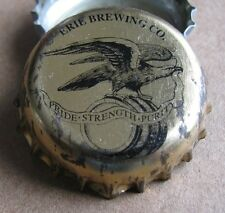 ERIE BREWING CO ERIE PA USED MICRO CRAFT BEER BOTTLE CAP