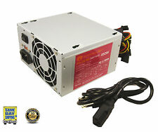 A-Power AGS450W 450 Watt Power Supply 20+4-pin 2 80mm Fans ATX w/ SATA 450W 460*