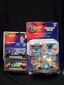 Winner Circle Jeff Gordon 4 Car Set.