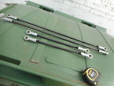 CLEVIS TIE RODS -- Bulk lot of 4 -- 2 Pairs - 770mm + 410mm Left/Right Thread