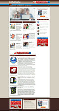Viral Marketing Advice Website With Multi Affiliates And New Domain