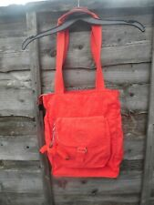 LADIES LOVELY RED KIPLING BAG