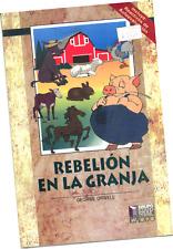 """LIBRO """"REBELIÓN EN LA GRANJA"""", DE G. ORWELL, EN ESPAÑOL"""