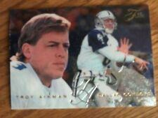New listing 1995 Fleer Flair  #51  Troy Aikman   Dallas Cowboys NrMt