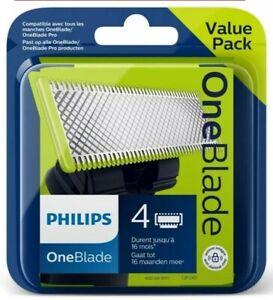 Philips QP240/50: 4 Lames de Rasoir OneBlade compatible tout manche 1Blad - Neuf