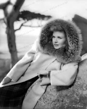 8x10 Print Ginger Rogers Beautiful Fashion Portrait #0755