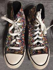 c710fa3c935b Converse Chuck Taylor All Stars 3D Multi Colored Sequin Print Hi Tops Shoes  SZ 6