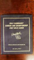 Danbury Mint-23kt Dale Earnhardt Career and Championship Card Set