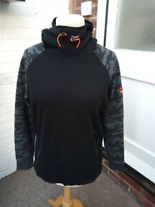"Superdry Sport Black Hoody 23"" XL"