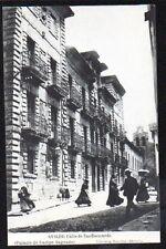 Tarjeta Postal. Aviles. (Asturias). Calle de San Bernardo. Palacio Campo Sagrado