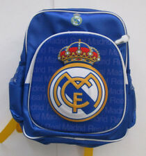 Kid's Unisex Club Real Madrid F.C Backpack, New Blue Whit Navy Official Product