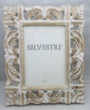 Silvestri Photo Picture Frame Shabby Chic Distressed Wood