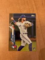 2020 Topps Series 1 - Bo Bichette - #78 Gold Parallel Rookie RC #'d /2020