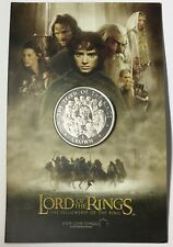2003 Lord of the Rings Isle of Man Cupro Nickel Coin