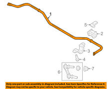 FORD OEM 15-17 Mustang Stabilizer Sway Bar-Rear FR3Z5A772E