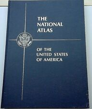 The National Atlas Of The United States Of America 1970 oversize leather-bound