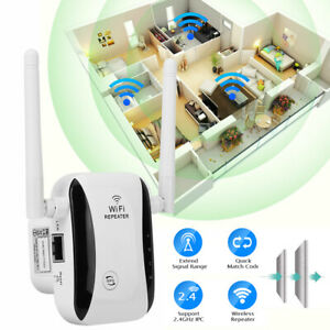 New WiFi Range Internet Booster Network Router Wireless Signal Repeater Extender