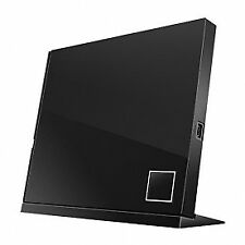 ASUS SBC-06D2X-U Slim USB 2.0 BDXL CD 6x Rw Externo Blu-ray Lector Negro