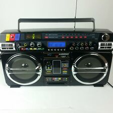 Lasonic i931 Boombox Ghetto Blaster AM FM Radio iPod USB Tested Works 100%
