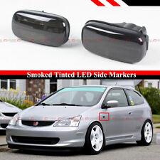 For Civic Es Ep3 Fd Rsx Dc5 Smoke Tinted Lens Led Fedner Side Marker Lamp Light Fits Rsx