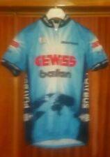 Maglia Ciclismo GEWISS BALLAN BIANCHI ITALIA ITALY Shirt Camiseta Vintage Biemme