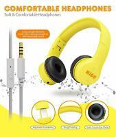 Mumba Wired Over-Ear Kids Headphones Earphones Noise Cancelling Headset Headband