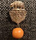 Vintage RARE 1931 LA Board of Supervisors NEA National Education Association Pin